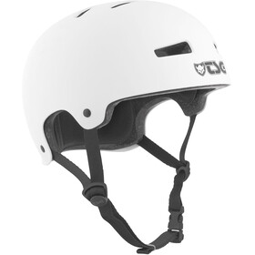 TSG Evolution Solid Color Bike Helmet white